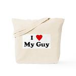 I Love My Guy Tote Bag