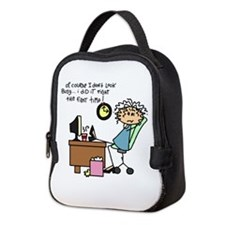 Right the First Time Neoprene Lunch Bag