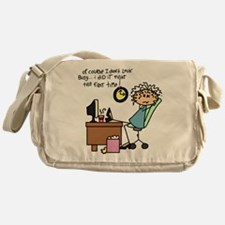 Right the First Time Messenger Bag