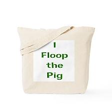 floop_green Tote Bag