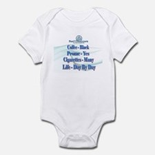 12-Steppers Day by Day Infant Bodysuit