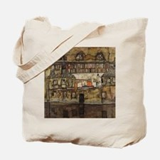 House Wall on the River by Egon Schiele Tote Bag