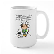 Illiterate People Mug