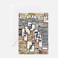 Paul Klee: Cote de Provence Greeting Card