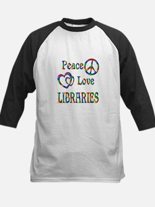 Peace Love LIBRARIES Tee