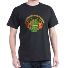 DUI - 89th Military Police Bde with Text T-Shirt