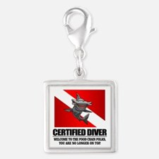 Certified Diver (Food Chain) Charms