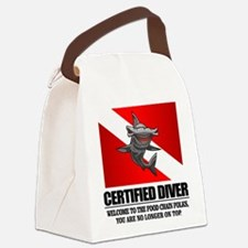Certified Diver (Food Chain) Canvas Lunch Bag