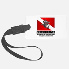 Certified Diver (Food Chain) Luggage Tag