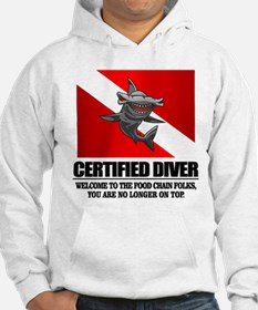 Certified Diver (Food Chain) Hoodie