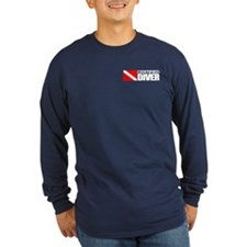 Certified Diver (Food Chain) Long Sleeve T-Shirt