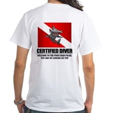 Certified Diver (Food Chain) T-Shirt