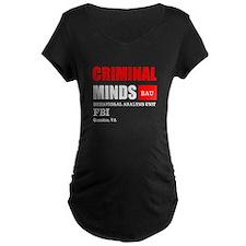 Criminal Minds Maternity T-Shirt