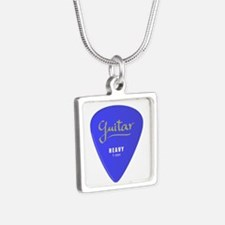 Guitar Pic Square Necklace