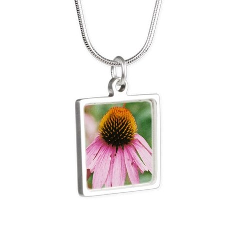 Charming in Pink Square Necklace