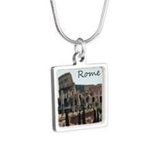 Rome Square Necklace