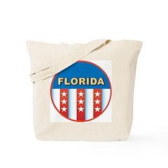 Patriotic Florida Tote Bag