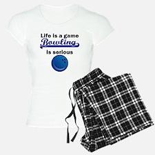 Bowling Is Serious pajamas