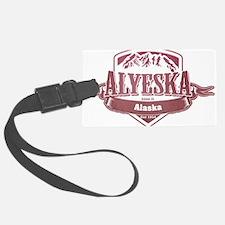 Alyeska Alaska Ski Resort 2 Luggage Tag