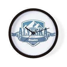 Alyeska Alaska Ski Resort 1 Wall Clock