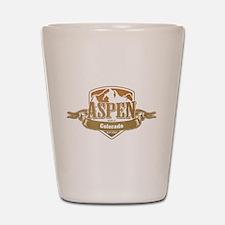 Aspen Colorado Ski Resort 4 Shot Glass