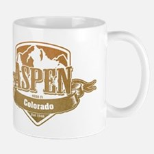 Aspen Colorado Ski Resort 4 Mugs