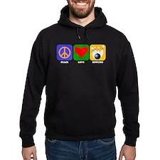 Peace Love Bowling Hoody