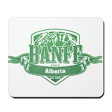Banff Alberta Ski Resort 3 Mousepad