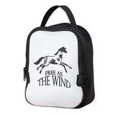 Free as the Wind Neoprene Lunch Bag