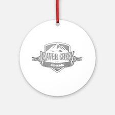 Beaver Creek Colorado Ski Resort 5 Ornament (Round