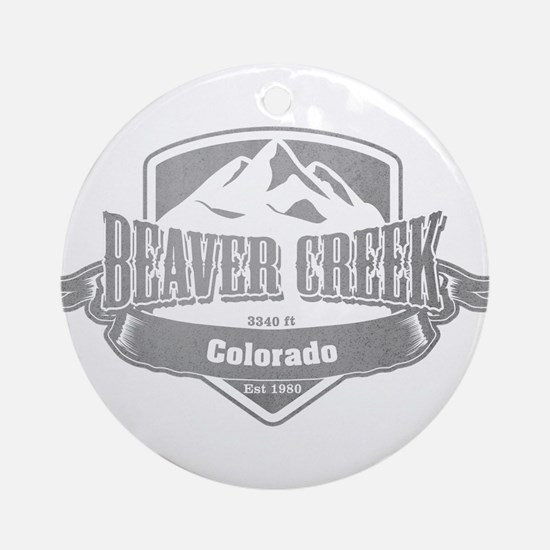 Beaver Creek Colorado Ski Resort 5 Ornament (Round