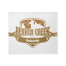 Beaver Creek Colorado Ski Resort 4 Throw Blanket