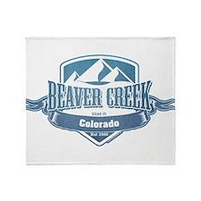 Beaver Creek Colorado Ski Resort 1 Throw Blanket
