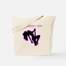 Custom Hot Pink Pin Up Tote Bag