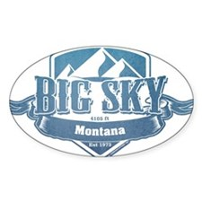 Big Sky Montana Ski Resort 1 Decal