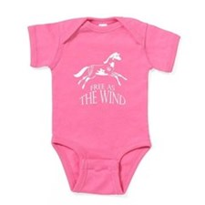 Free as the Wind Baby Bodysuit