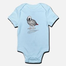 African Grey Parrot Body Suit
