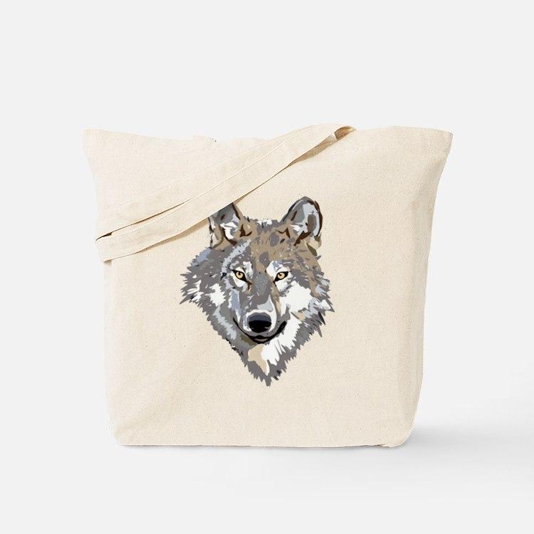 wolfhead Tote Bag