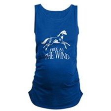 Free as the Wind Maternity Tank Top