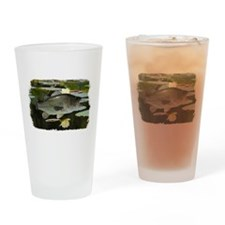 Bass lilly Drinking Glass