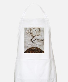 Small Tree in Late Autumn by Egon Schiele Apron
