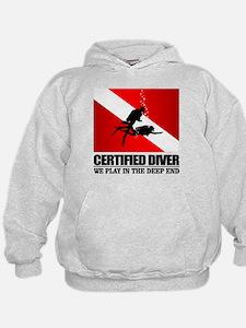 Certified Diver (Deep End) Hoodie