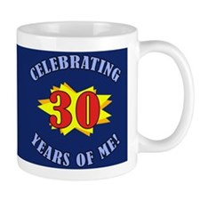 Celebrating 30th Birthday Mug