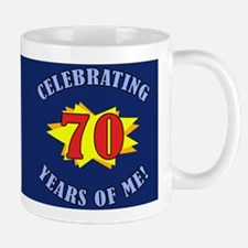 Celebrating 70th Birthday Mug