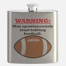 Spontaneous Football Talk Flask