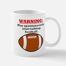 Spontaneous Football Talk Mugs
