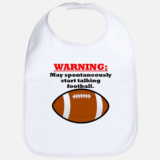 Spontaneous Football Talk Bib
