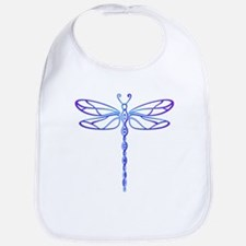 purple dragonfly Bib