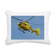 Dorset Air Ambulance Rectangular Canvas Pillow