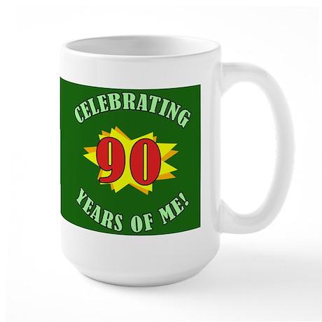 Celebrating 90th Birthday Large Mug